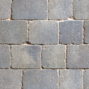 granite stone block paving