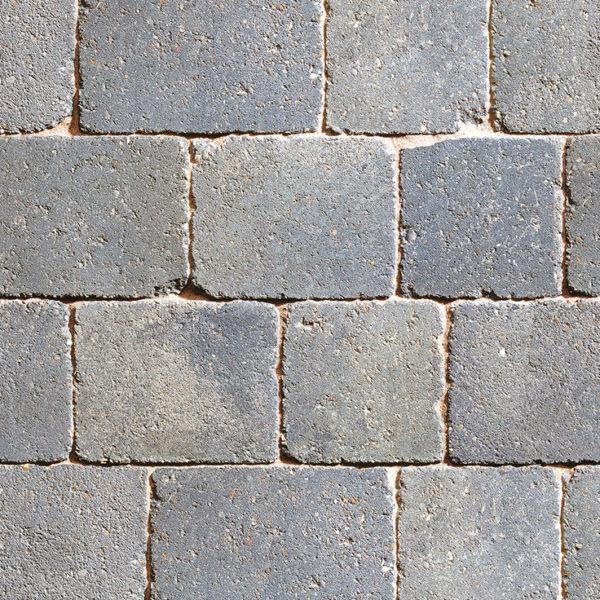 granite stone block paving