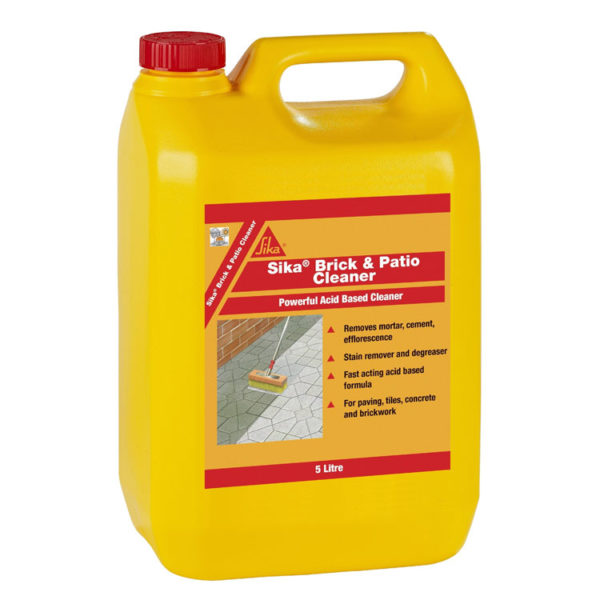 Brick and Patio cleaner 5l bottle