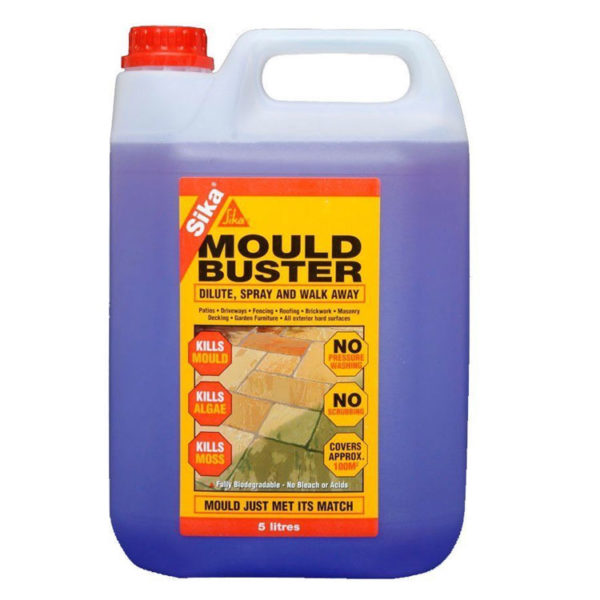 Tub of mould buster
